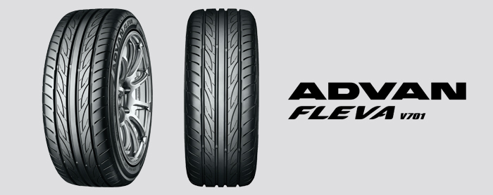 Yokohama ADVAN FLEVA V701 High-Performance Sport Tire