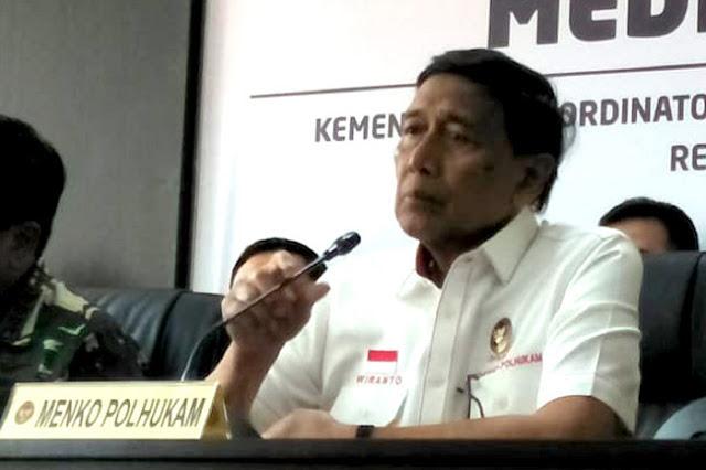 Wiranto Tuding Kelompok Islam Radikal juga akan Berunjuk Rasa