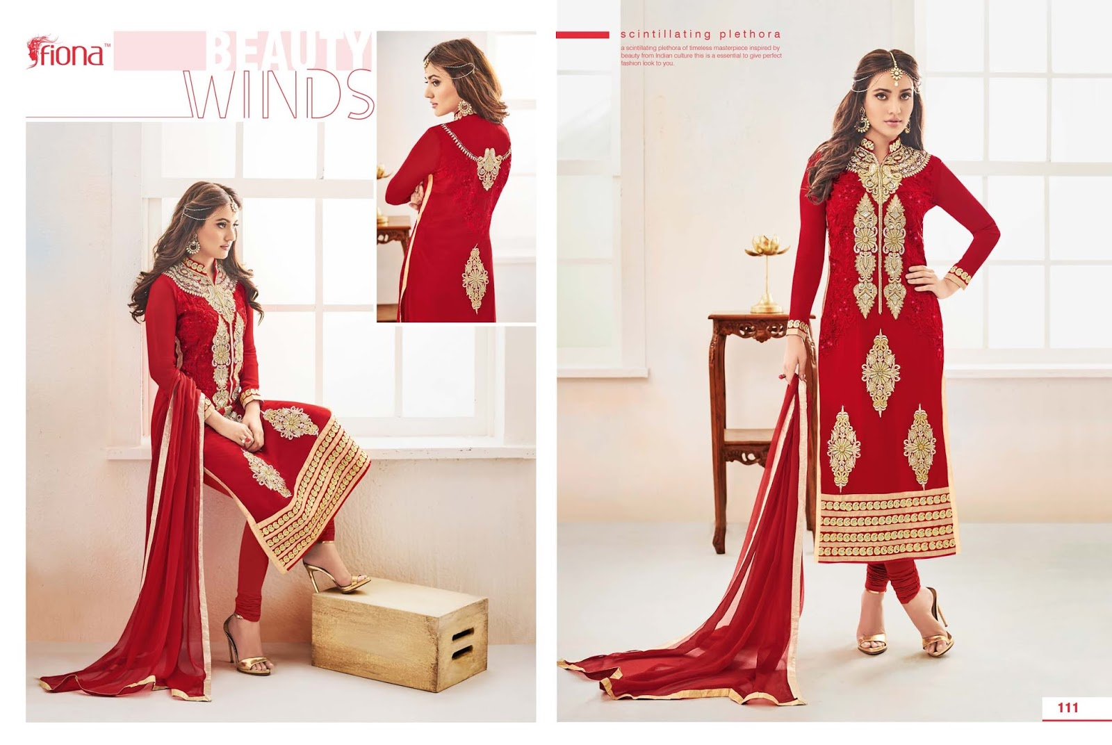 Fiona Cat 2 – Attaractive And Beautiful Embroidered Salwar Suit