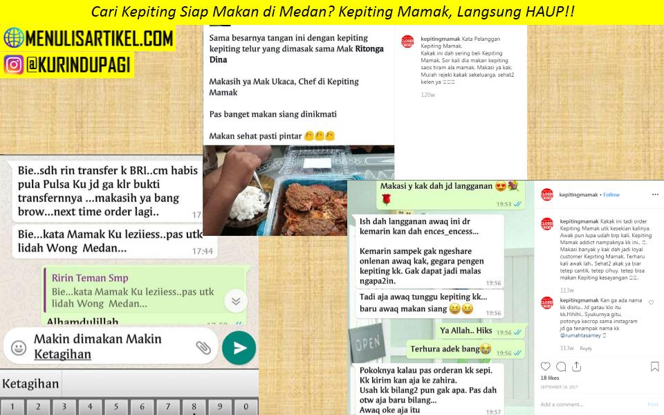 Testimoni Kepiting Mamak Medan