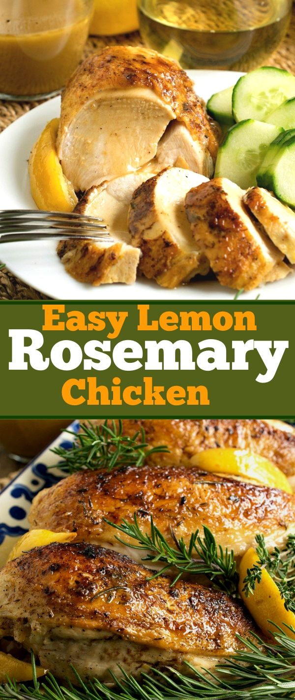Eаѕу Lemon Rоѕеmаrу Chісkеn #Eаѕу #Lemon #Rоѕеmаrу #Chісkеn Healthy Recipes For Weight Loss, Healthy Recipes Easy, Healthy Recipes Dinner, Healthy Recipes Best, Healthy Recipes On A Budget,
