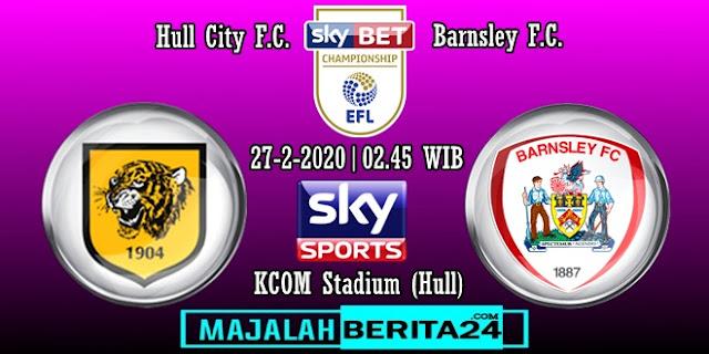 Prediksi Hull City vs Barnsley