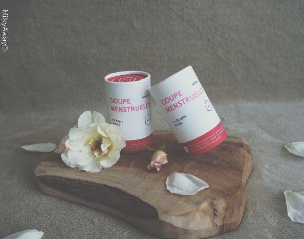 Coupes menstruelles coffret Mariole de MÏU Cup