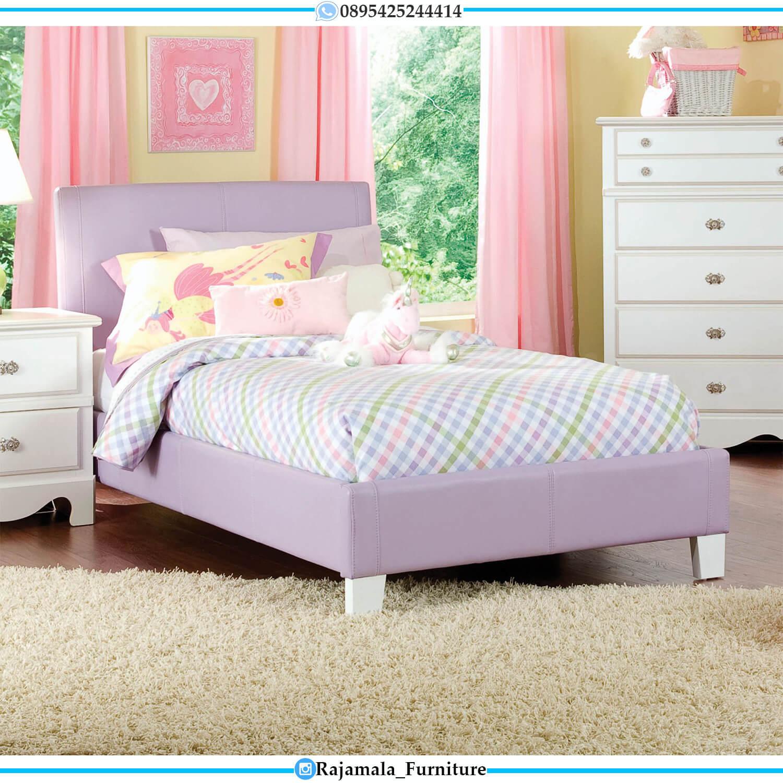 Tempat Tidur Minimalis Anak Duco Glossy Color Terbaru RM-0436