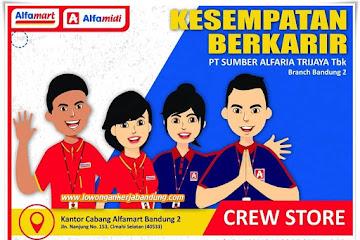 Lowongan Kerja Crew Store Alfamart Bandung