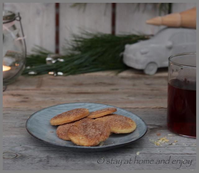 Schwedische Julkuchen - stay at home and enjoy