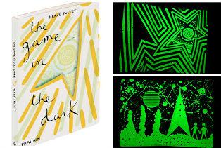 fomentar lectura con cuentos sorprendentes para leer a oscuras: libro the game in the dark de Hervé Tullet