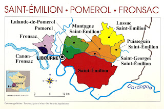 Saint-Émilion is an appellation d'origine contrôlée for wine in the Bordeaux situated in the Libourne subregion on the right bank of the Dordogne.
