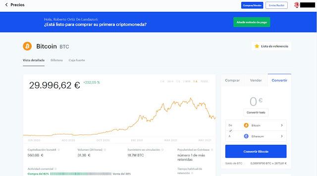 CoinBase Funcionamiento