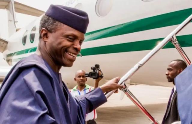 ECOWAS: Yemi Osinbajo departs Nigeria to Ghana over Mail's Crisis