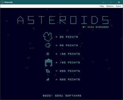 Asteroids Portable para PC