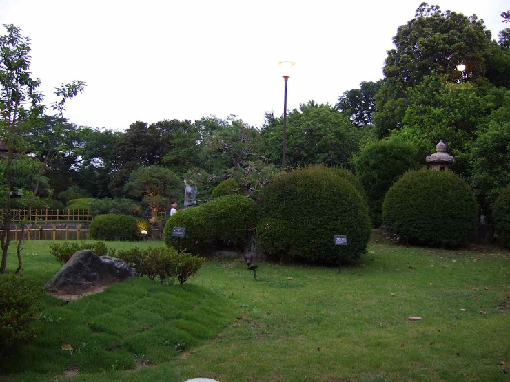 川豊別館の中庭(2)