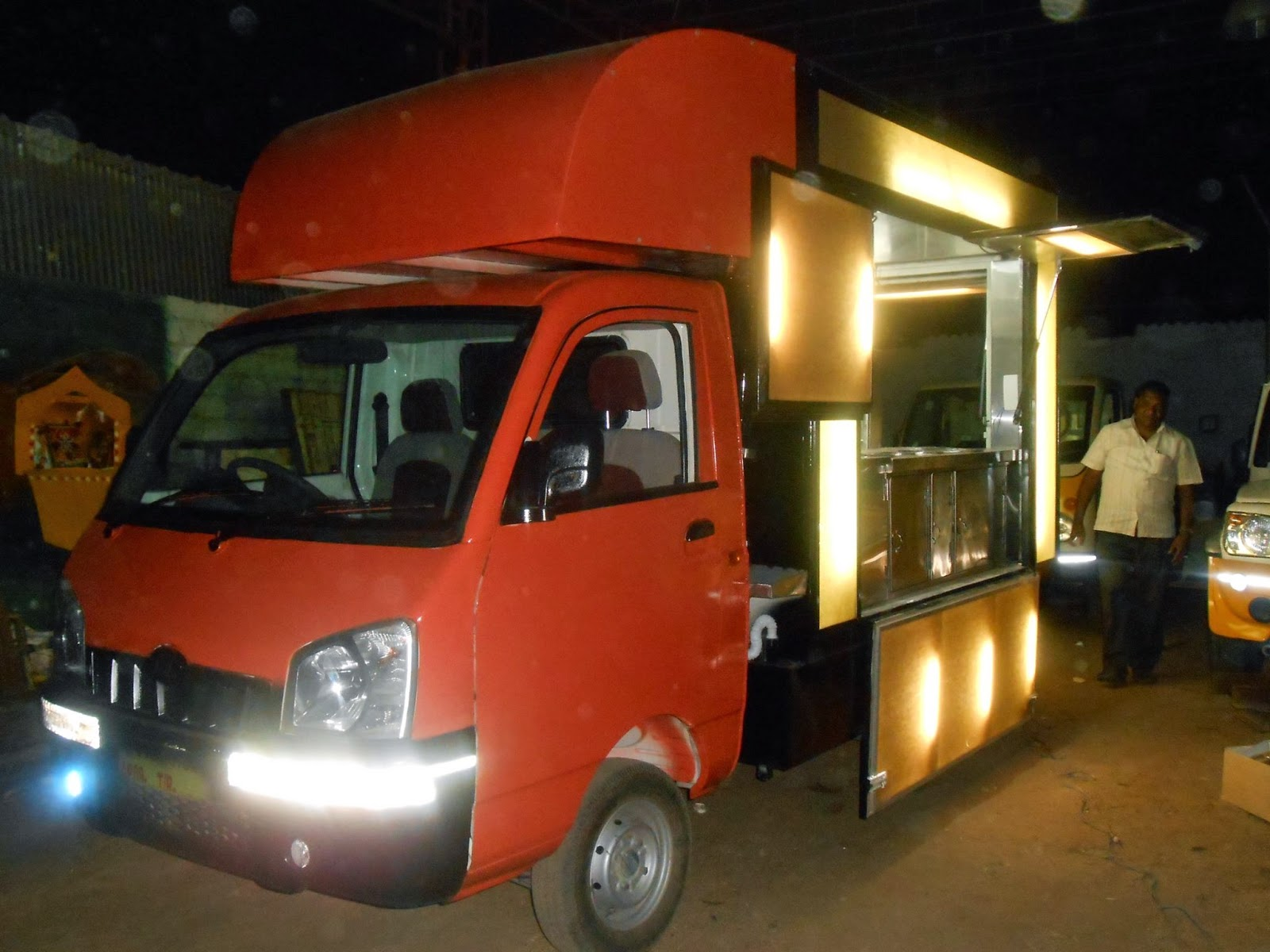 For A First Time Entrepreneur Into The Food Business Amount Of Thought Gone Building Vehicle And Operation Outlet Is Commendable