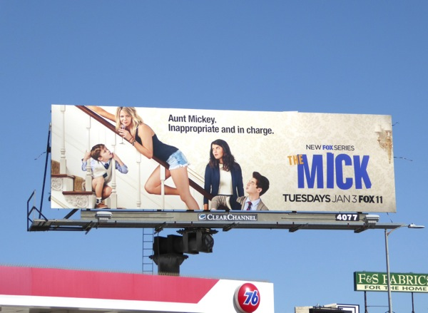 The Mick series premiere billboard