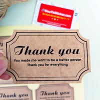 tem cảm ơn dán hộp quà