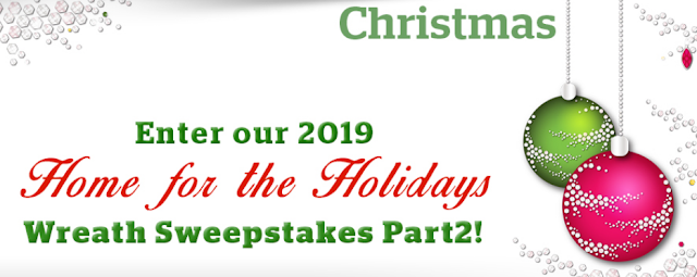 Here are some instructions about how to enter the 2019 Home For The Holidays Sweepstakes for your chance to win some really great prizes!