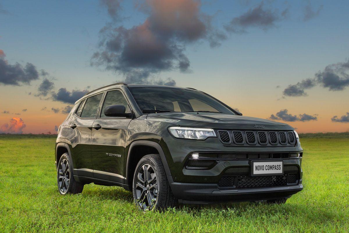 Pré-venda de 1.000 unidades do Novo Jeep Compass Série Especial 80 Anos termina em apenas 48 horas