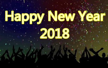 2018 New Year in Advance