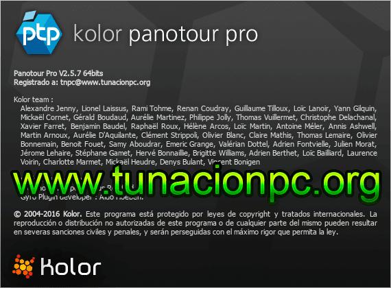 Kolor Panotour Pro Imagen