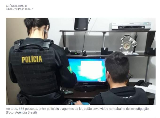 Operação no Maranhão e outros Estados combate crimes contra crianças