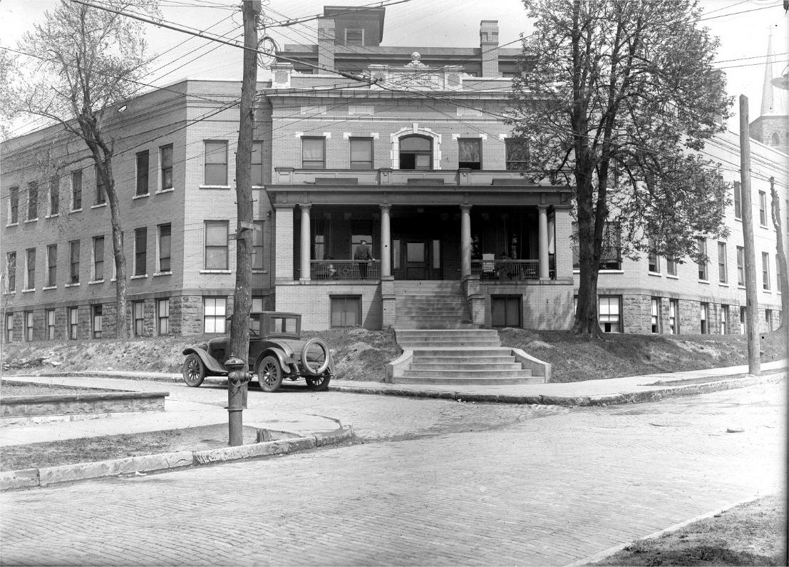 Brownsville General Hospital - Historic View from Street