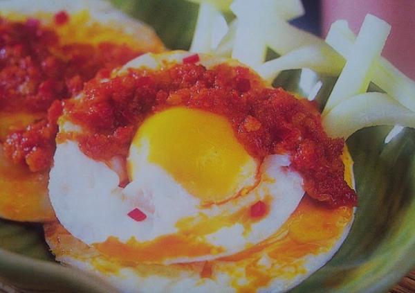 Telur Ceplok Balado