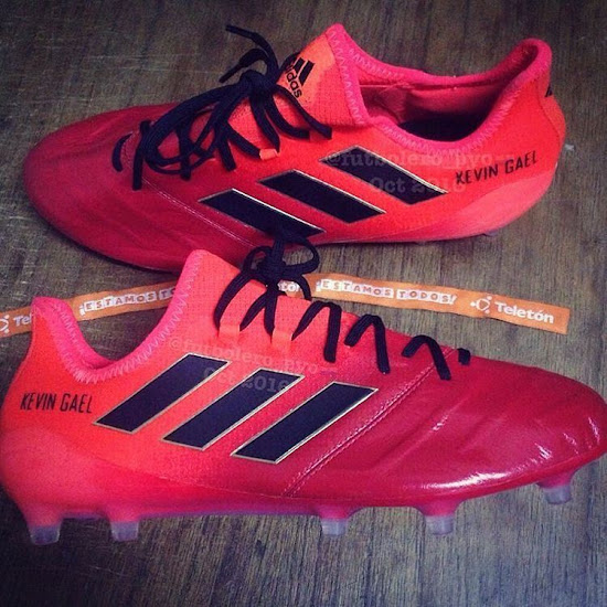 more photos 6bd53 17346 Stunning Adidas Ace 17 Leather Pyro Storm Boots Leaked ...