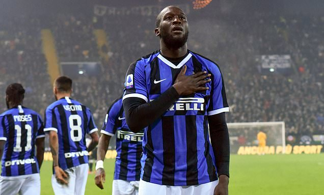 Video Cuplikan Gol: Udinese 0-2 Inter Milan (Serie A)
