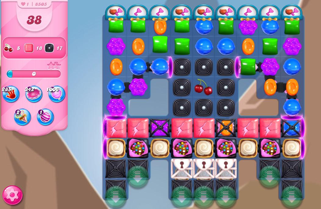 Candy Crush Saga level 8505
