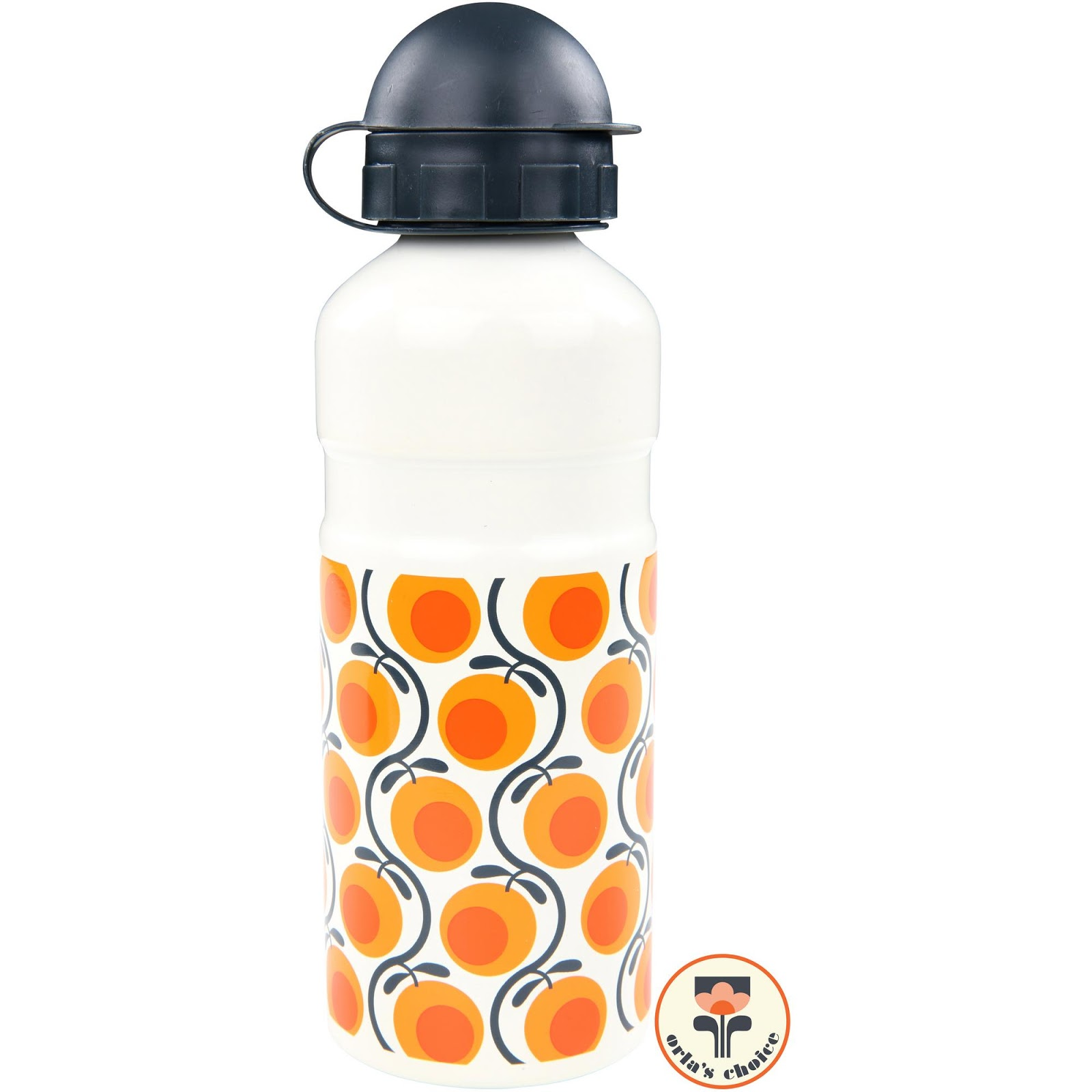I Love Orla Kiely Olive And Orange Cycling Accessories At Halfords