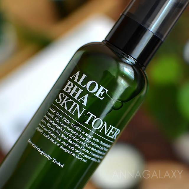 Упаковка Benton Aloe BHA Skin Toner