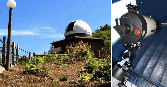 "Kohout-Dingley Observatory with it's Celestron 11"" Schmidt-Cassegrain Telescope Installed by Insight Observatory."