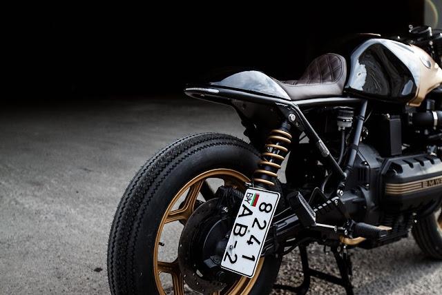 BMW K100 By Recast Moto Hell Kustom