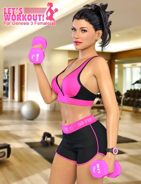Let's Workout for Genesis 3 Female