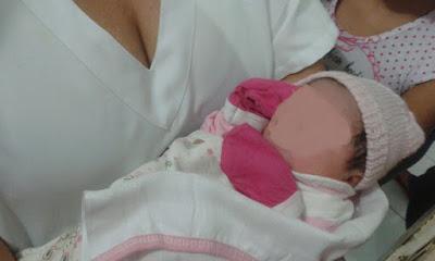 Criança recém-nascida é encontrada dentro do banheiro de um bar em Mata Roma