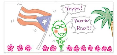 Yeppa! Puerto Rico!!!