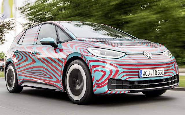 Volkswagen ID.3: elétrico com 204 cv e autonomia de 550 km