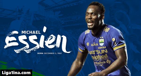 Persipura Jayapura Rekrut Michael Essien untuk Liga 1 2018?