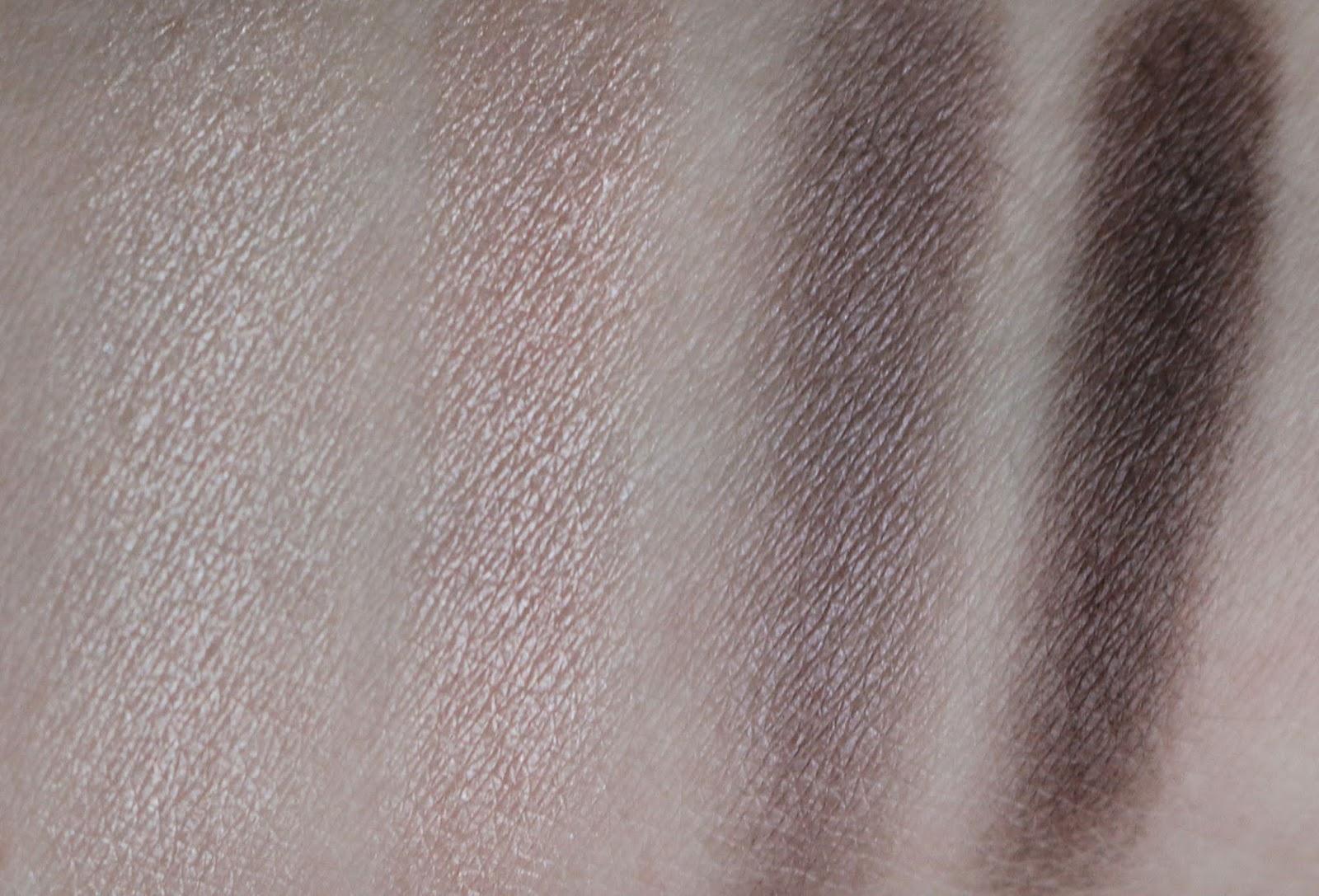 Sothys Ombre Eye Quartet Palette 40 Harmonie de Tons Nude Swatches