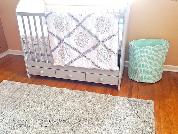 Give back to a child in need while decorating your child's nursery beautifully with a Lorena Canals Rug! #BabyShowerGiftGuide