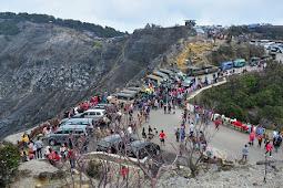 Jalan Wisata Gunung Tangkuban Parahu Ditutup Sementara untuk Wisatawan