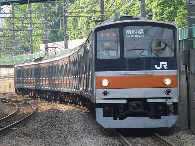 【引退しちゃった!】武蔵野線 南船橋行き1 205系5000番台