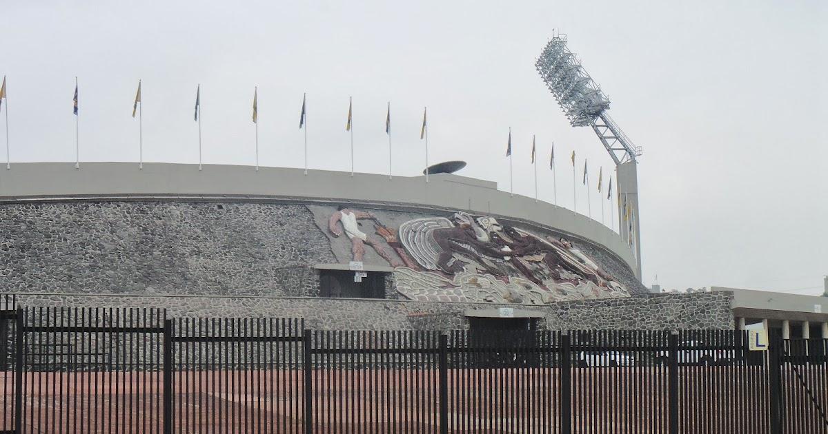 Lucalovesfootball Estadio Olimpico Universitario