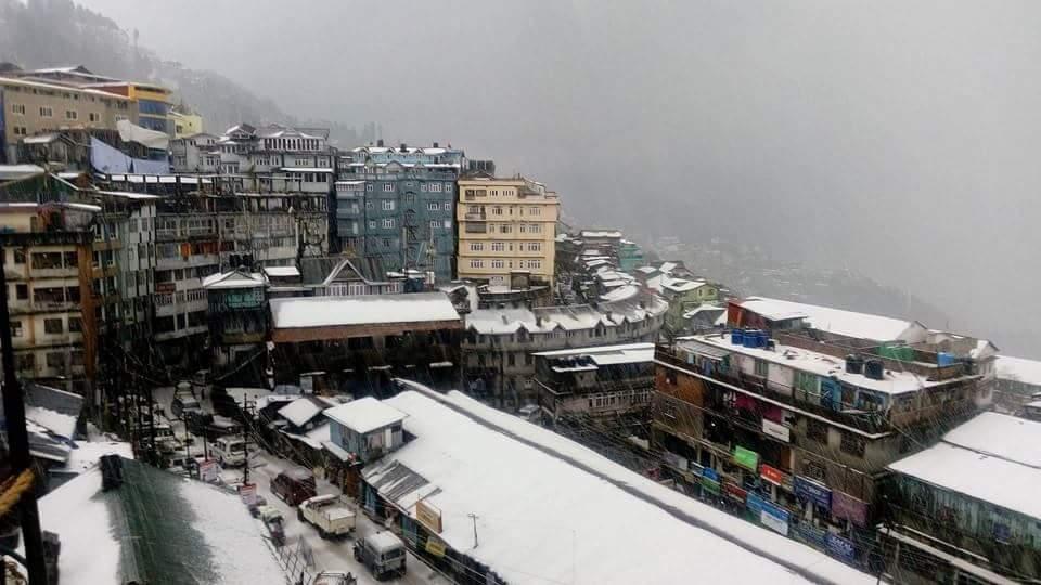 Hailstone in Darjeeling 8