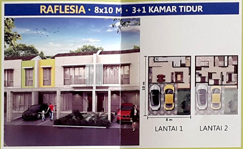 Tipe Raflesia @ PIK 2 Jakarta