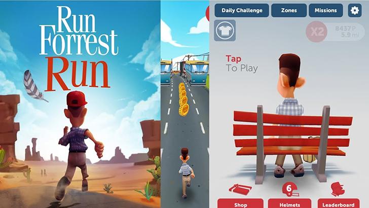Run Forrest Run Game