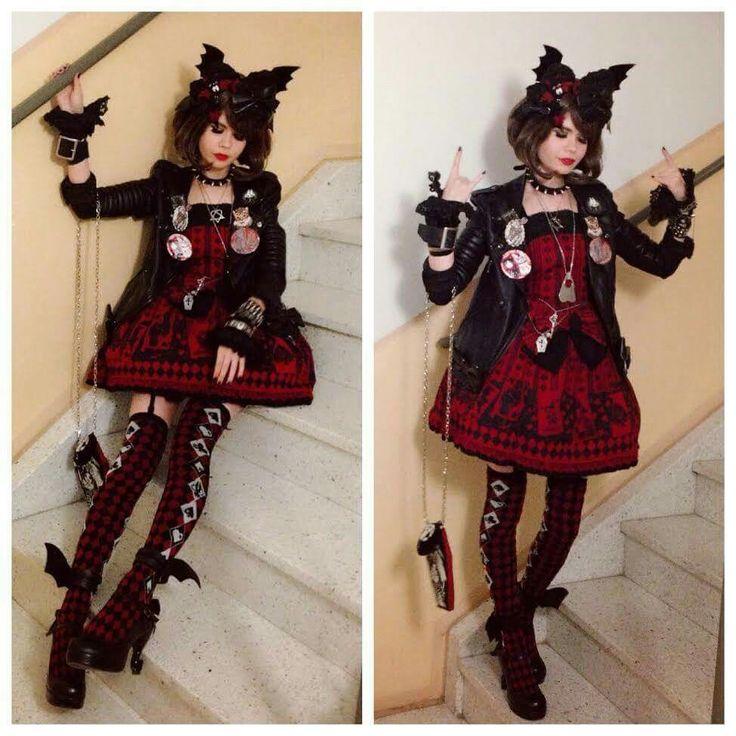 Punk lolita girl