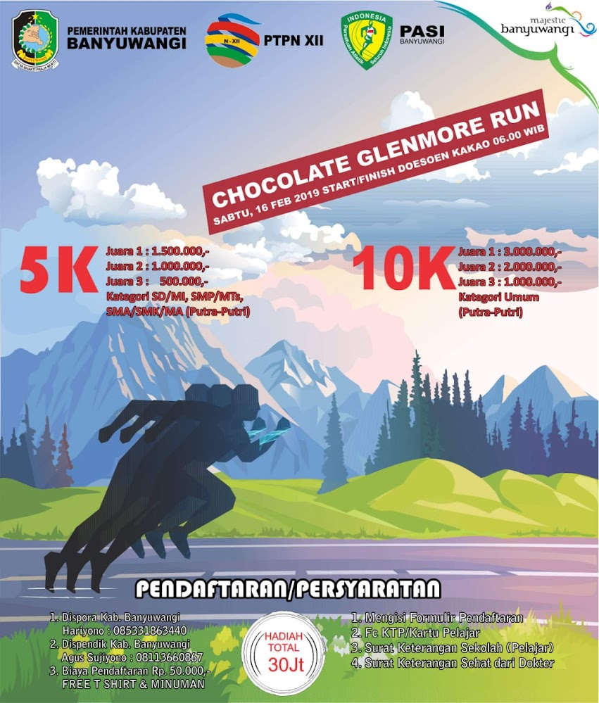 Chocolate Glenmore Run • 2019