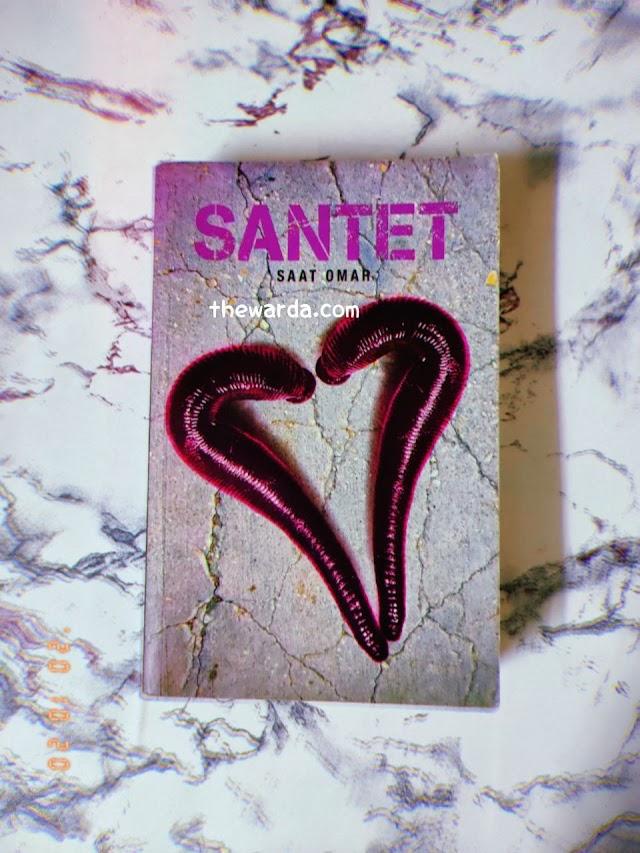 Review Buku Santet - Penulis Saat Omar.