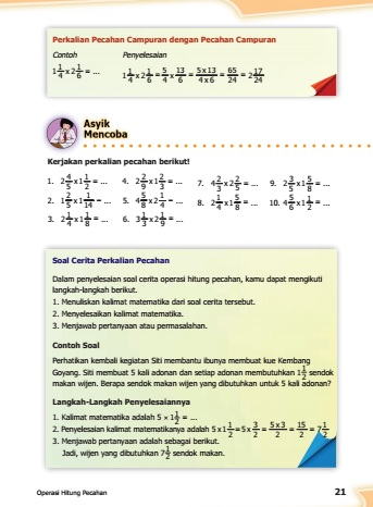 kunci jawaban buku senang belajar matematika kelas 5 kurikulum 2013 revisi